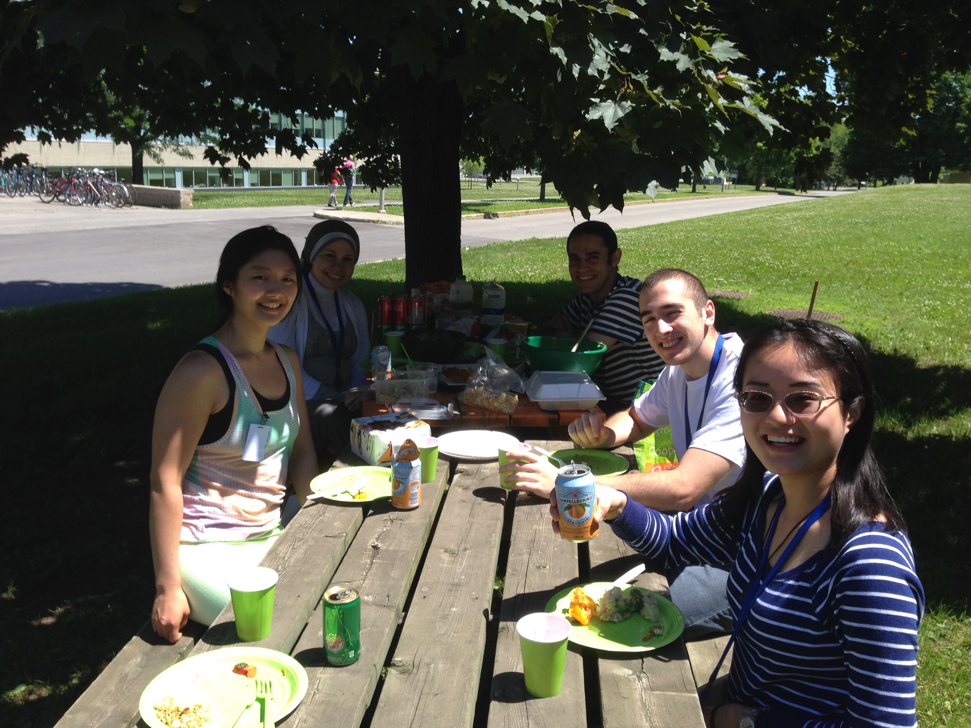 Group lunch Summer 2014