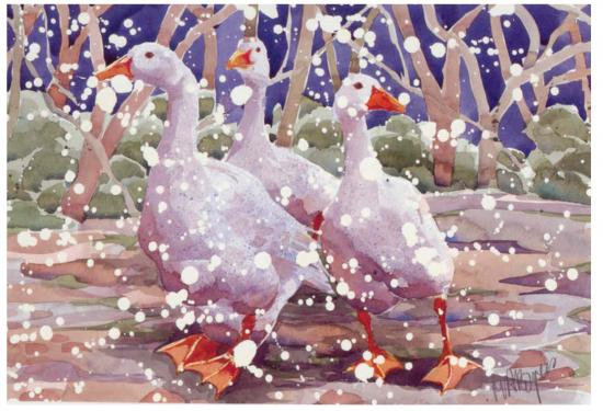 We Three Geese