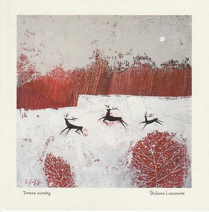 Deers  Running