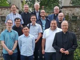 Neue Studenten von St. Lambert zu Besuch in der Bischofsstadt Trier