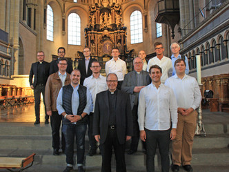 11 neue Seminaristen in St. Lambert
