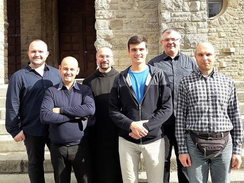 Die Teilnehmer des Schola-Wochenendes (Foto: Studienhaus St. Lambert)
