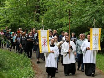 Wallfahrt zur Lourdes-Kapelle in Bachem