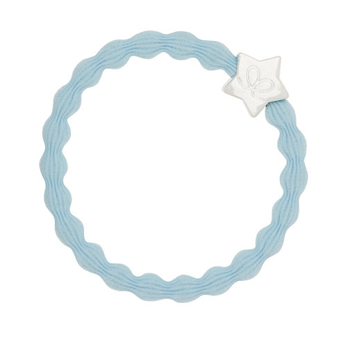 By Eloise Bangle Band - Sky Blue/Silver Star
