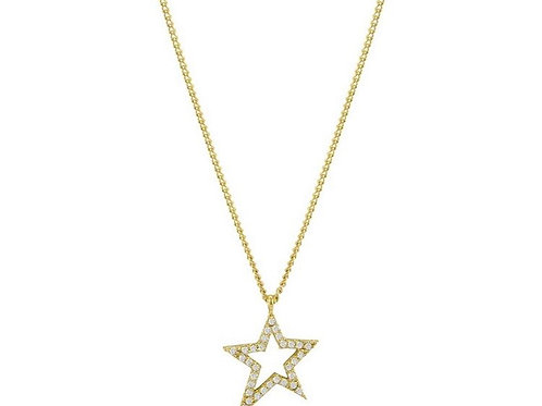 Rock Star Necklace - Gold