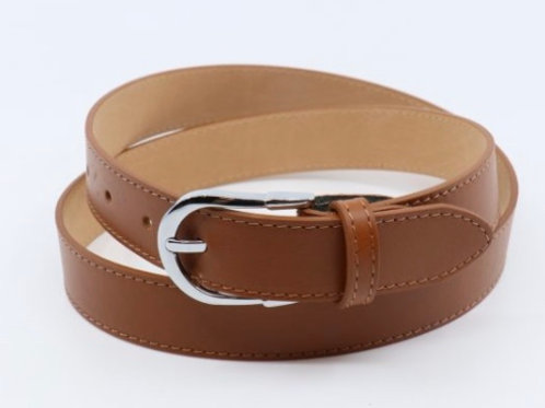Mia Leather Belt - Tan