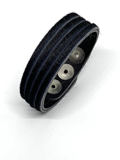Leather Cuff - Black