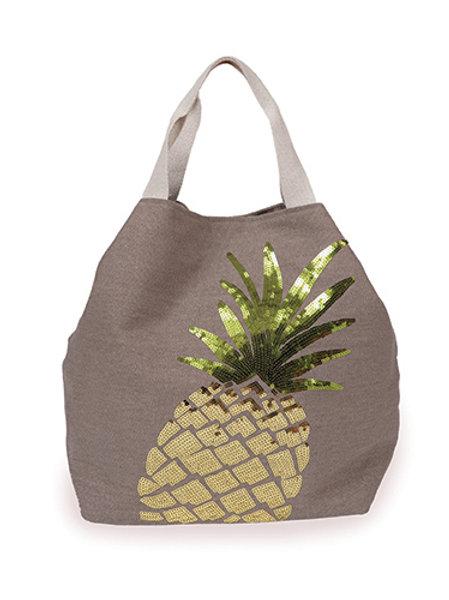 Pineapple Boho Bag - Stone