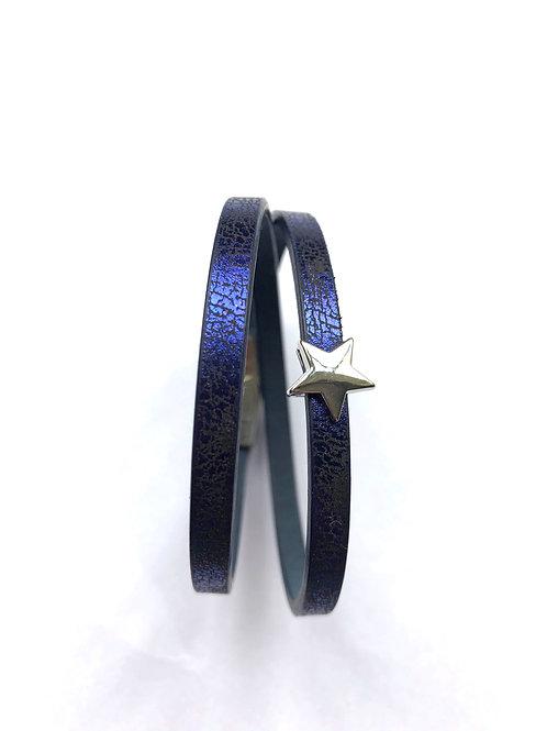 Skinny Star Wrap - Blue