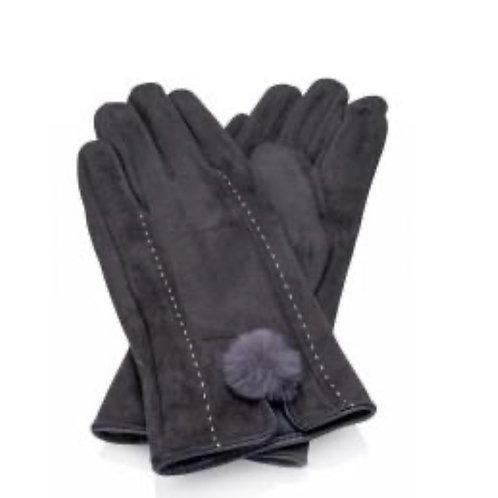 Phebe Gloves - Grey