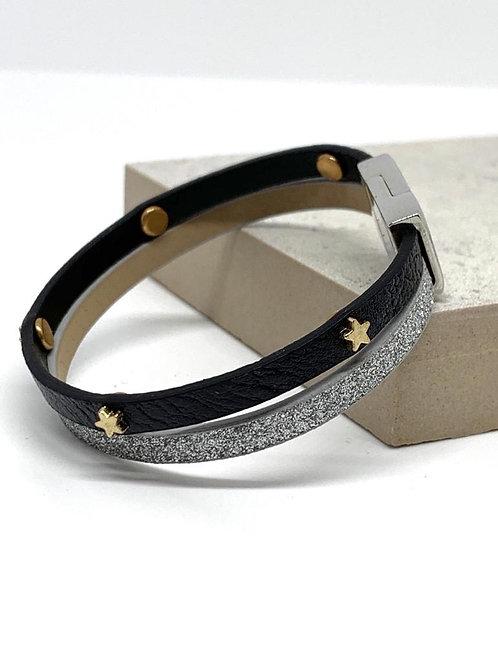 Sparkle Star Bracelet - Silver