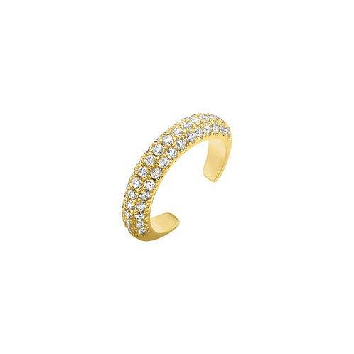 Diamond Ear Cuff - Gold