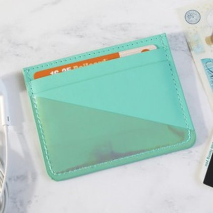 Card Holder - Turquoise
