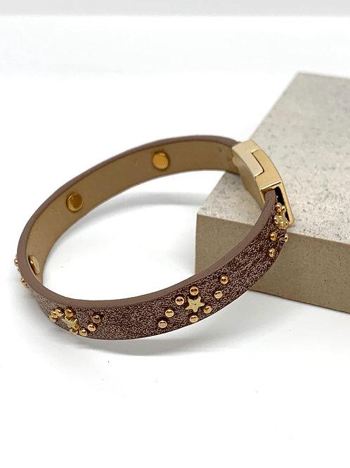Star Gazing Bracelet - Tan