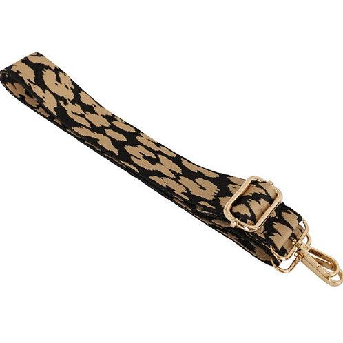 Cheetah Bag Strap - Taupe