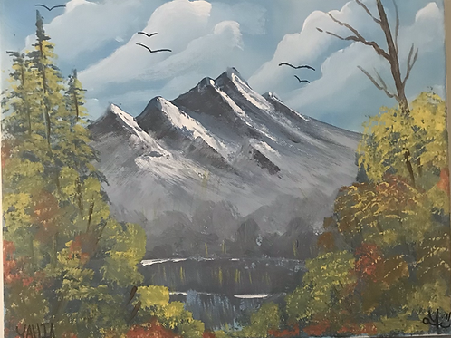 """""""The far mountains"""""""