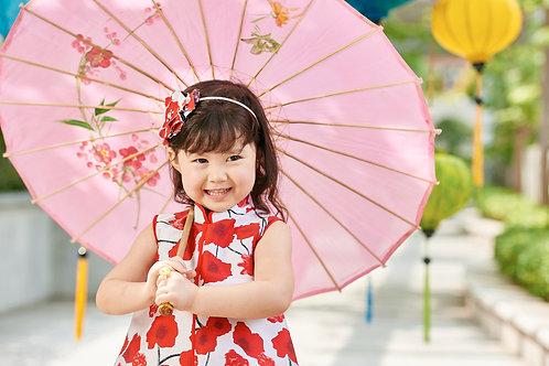 "Chinadoll ""red poppy dress"""