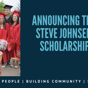 Accepting Applications! - Steve Johnsen Scholarship