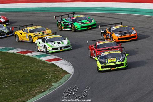 Ferrari Challenge Europe: Nielsen e Prinoth dominano il Trofeo Pirelli e la Coppa Shell