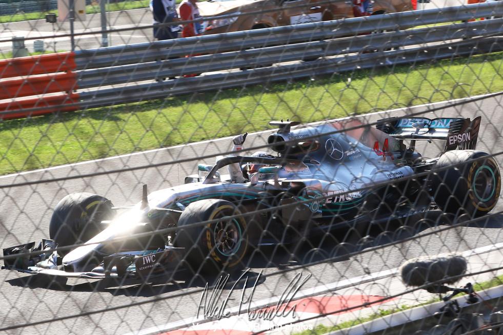 Formula 1 2018 Rolex Magyar Nagydíj: Hamilton fa cinque ed aumenta il vantaggio, Vettel e Raikkonen