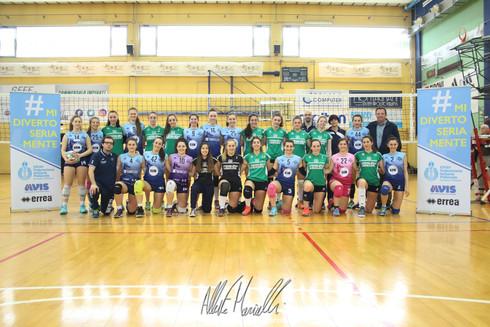 U18F, G.S.M.Mondial - A.S.Corlo: Carpi lotta e si prende il secondo titolo provinciale