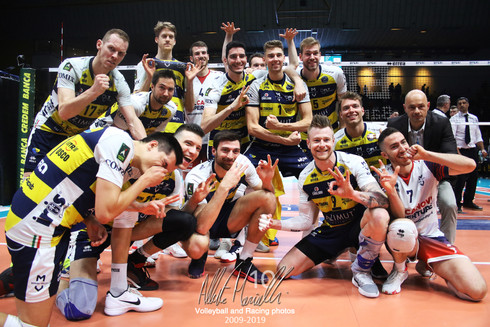 Playoff SuperLega Credem Banca: Modena vince la prima partita dei quarti