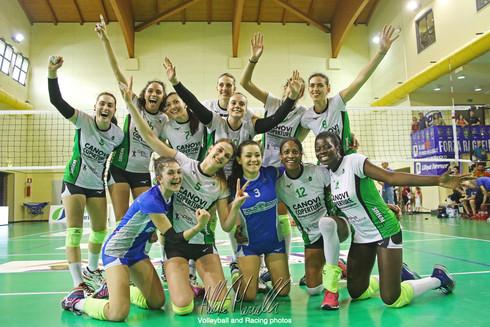 Serie B1 Femminile: Canovi Coperture Sassuolo mette il primo sigillo sulla promozione A2
