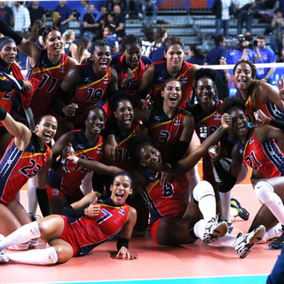 FIVB Volleyball Women's Nations League: Dominican Republic - USA