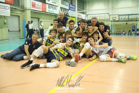 Finale FIPAV Under 18 Maschile AVIS: Modena Volley di nuovo sul tetto della Provincia