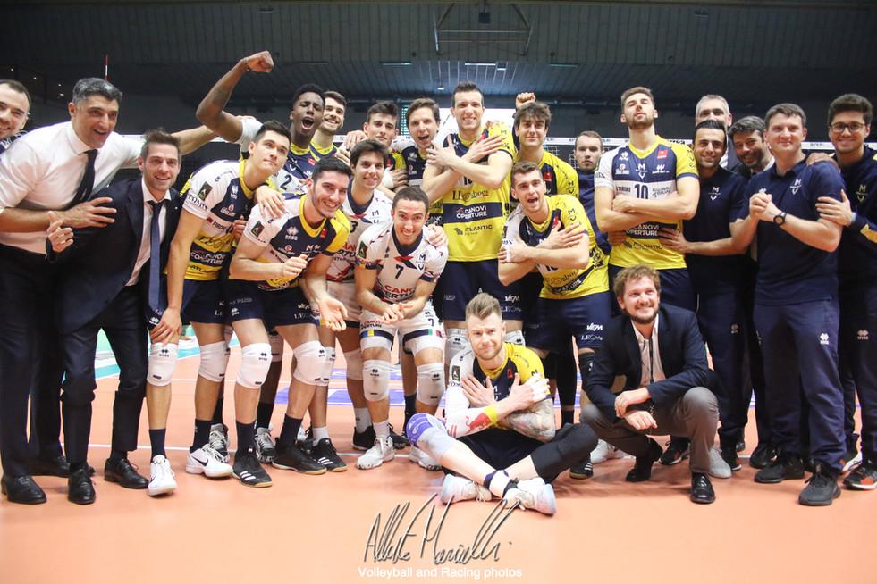 Superlega Credem Banca: Modena inizia il 2020 con tre punti contro Piacenza
