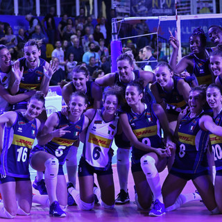 FIVB Volleyball Women's Nations League: Serbia - Italy