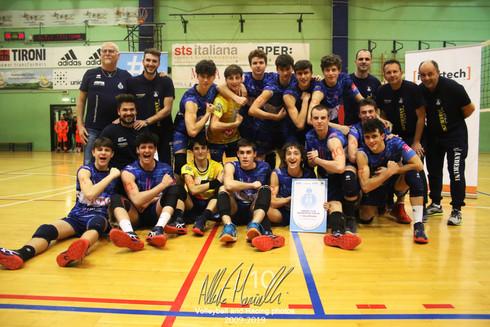 Finale FIPAV Under 16 Maschile Intertech Italia: SdP Anderlini Gialla conquista il titolo provincial