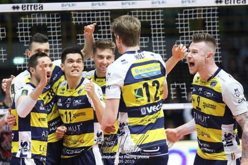 Playoff SuperLega Credem Banca: Modena manda a Gara5 Perugia