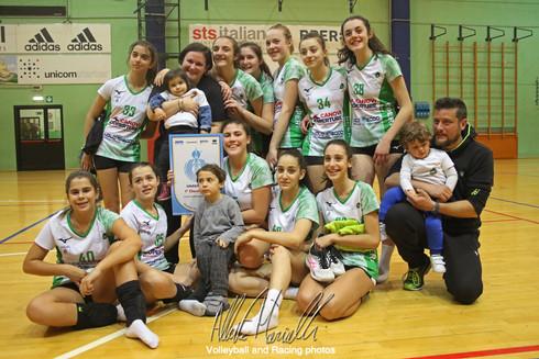 Finale FIPAV Under 14 Femminile: Canovi Coperture Sassuolo conquista il titolo in casa Anderlini con