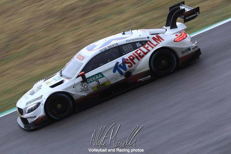 DTM Misano: Paul di Resta vince la prima gara in notturna del DTM, nella Formula 3 Schumacher vince