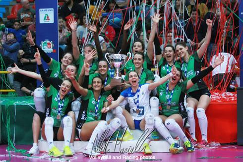 Samsung Galaxy A Coppa Italia A2: Sassuolo vince la sua prima Coppa Italia, Mondovì fallisce ancora