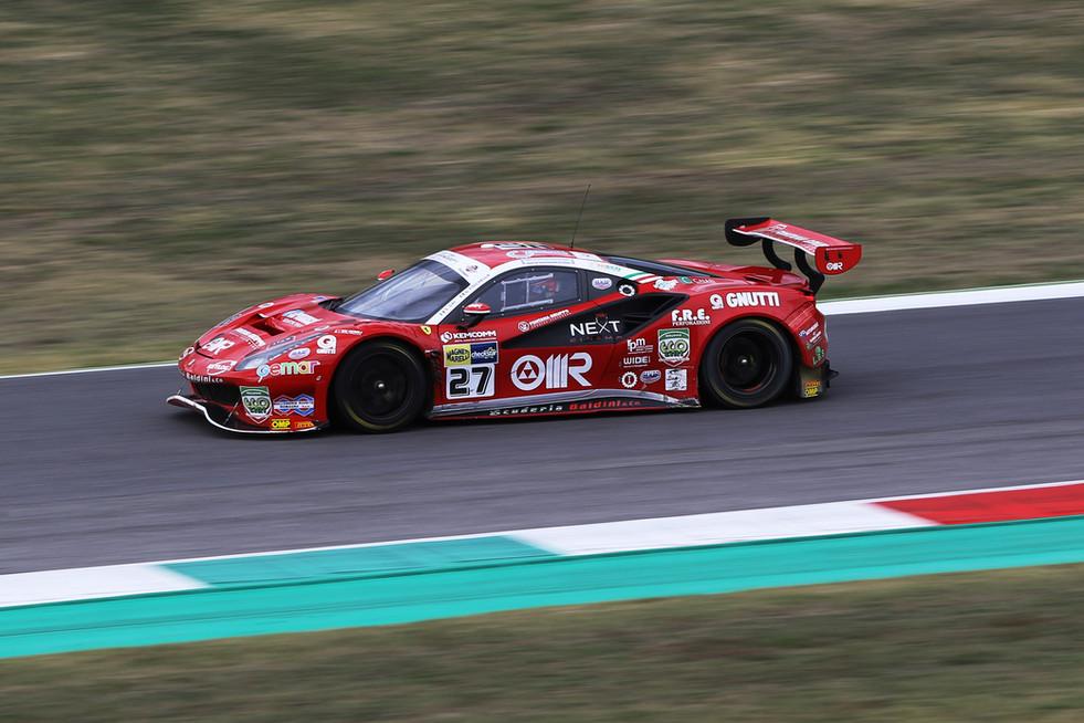 CIGT: Fisichella e Gai passano in testa al Campionato dopo Gara1 al Mugello