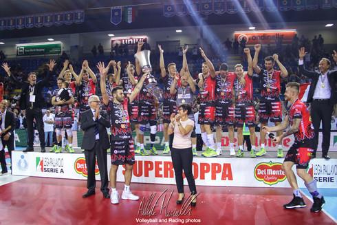Del Monte Supercoppa 2017 - Il primo trofeo di Perugia a Civitanova
