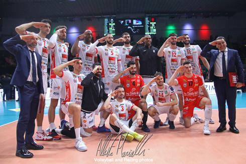 CEV Volleyball Champions League: Civitanova si conferma prima nel girone, Modena finisce l'avven