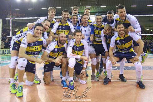 Azimut Modena - Calzedonia Verona: Modena e tre punti di ossigeno