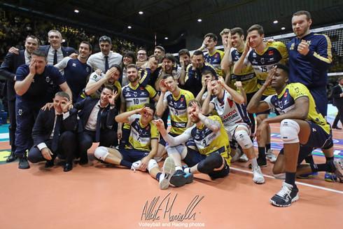 SuperLega Credem Banca: Modena ferma la Lube al PalaPanini