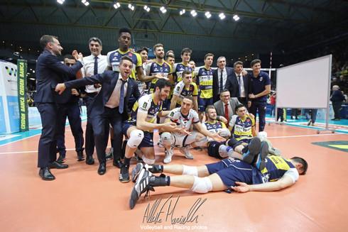 Superlega Credem Banca: Modena ancora schiacciasassi, 3-0 con Milano