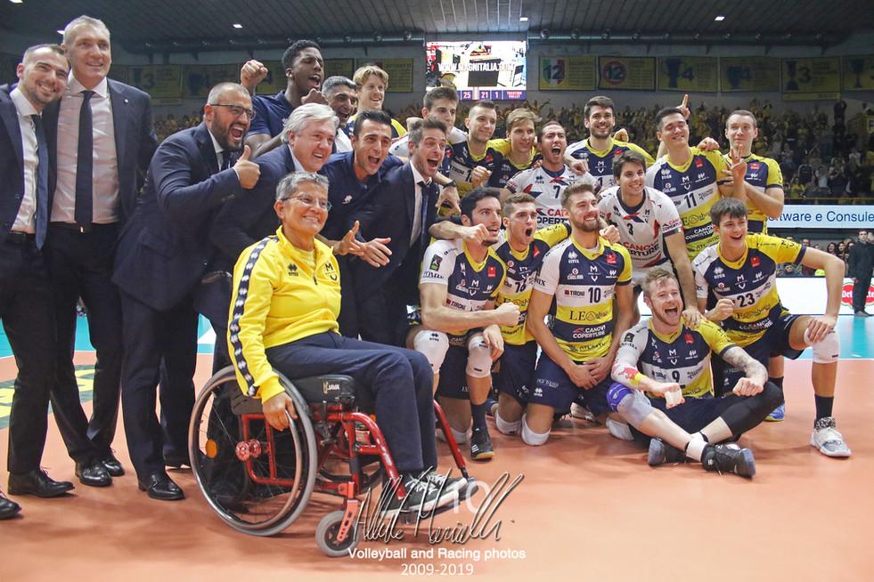 Superlega Credem Banca: Modena vince il derby dell'A22