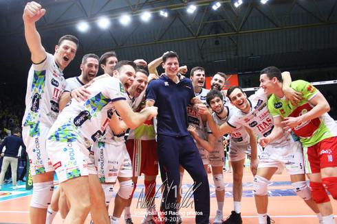 Superlega Credem Banca: Trento fa suo il derby dell'A22 anche nel girone di ritorno