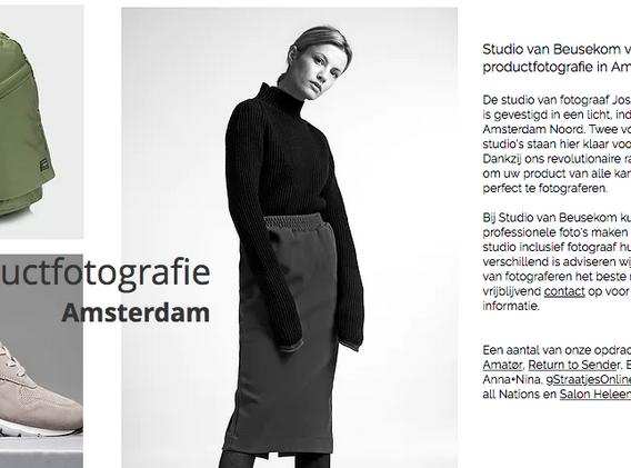Productfotografie Van Beusekom