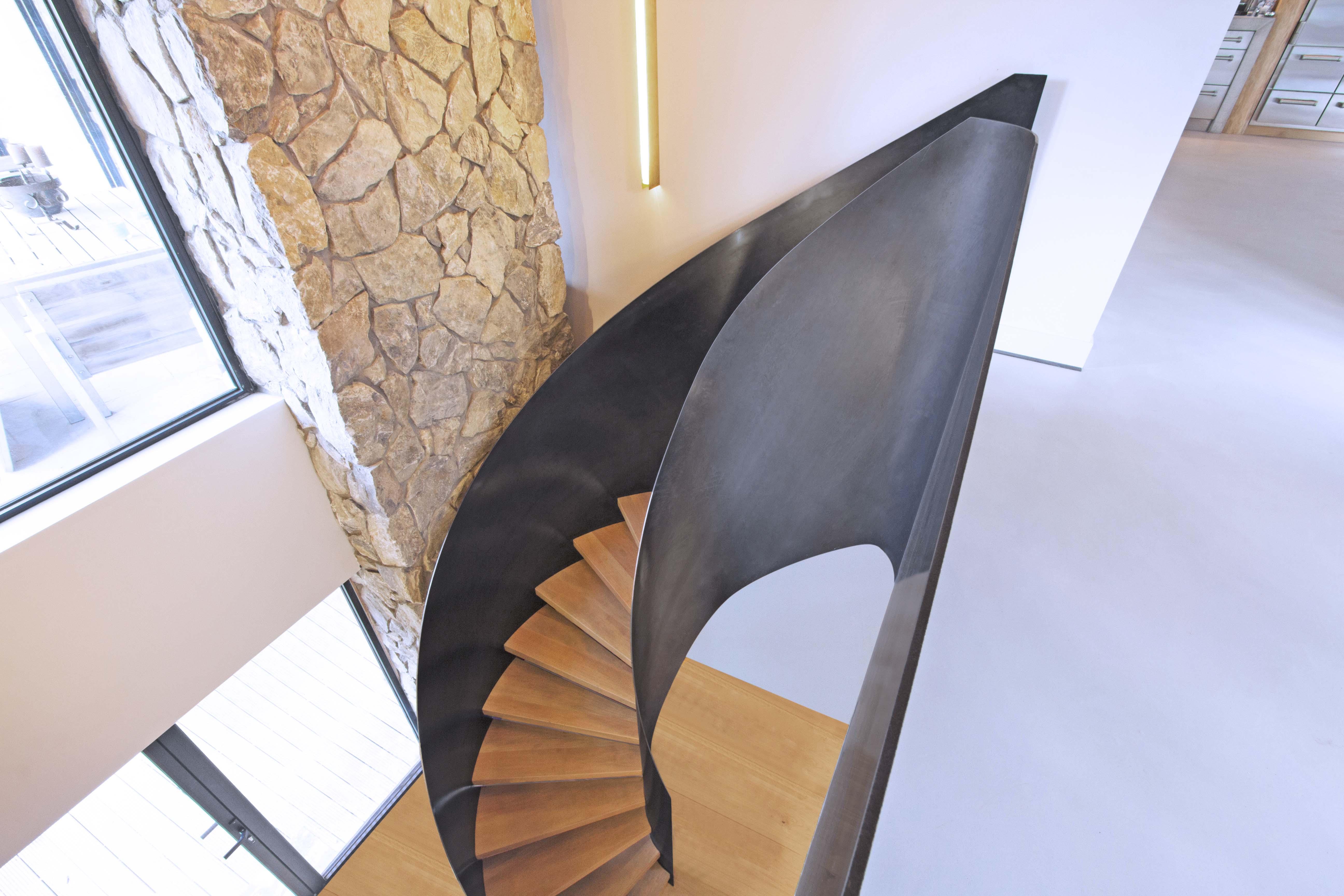 Verbazingwekkend Van Bruchem Staircases | Stalen Wenteltrap DA-36