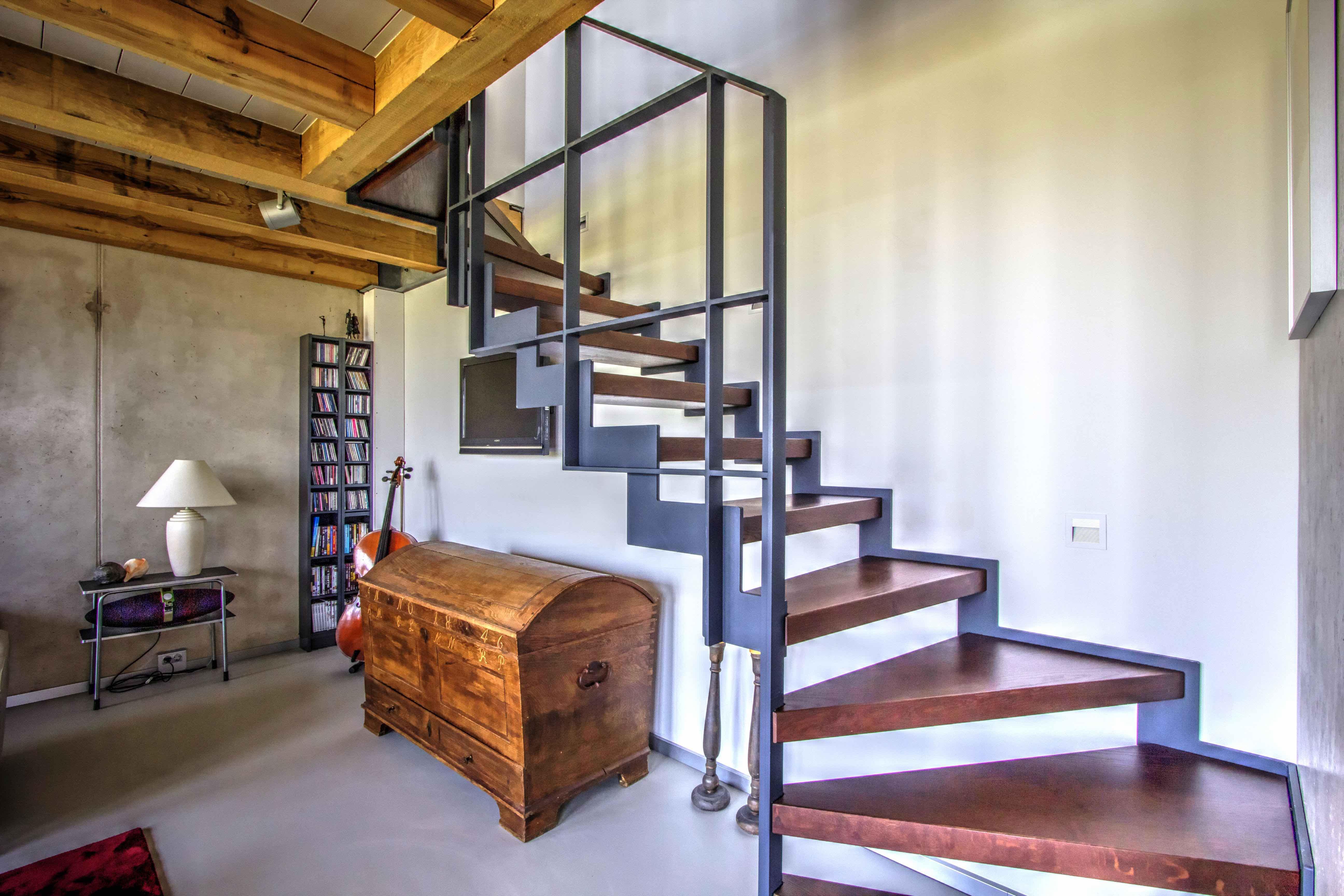 Van bruchem staircases moderne trap met balustrade
