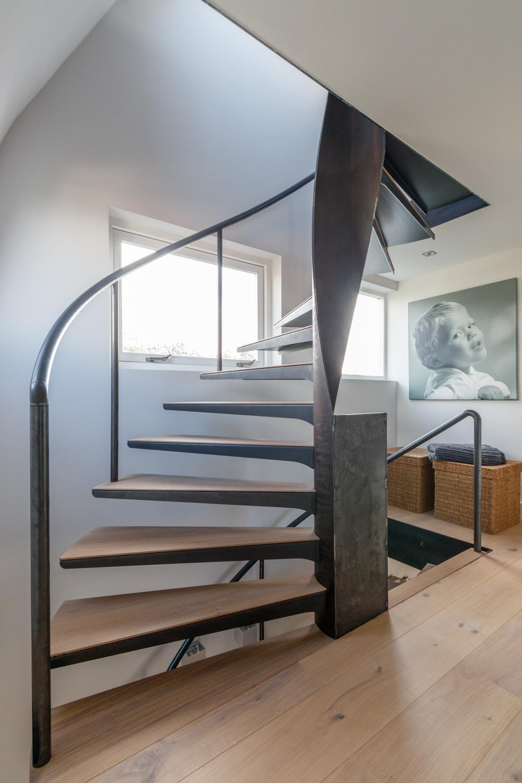 Wonderlijk Van Bruchem Staircases | Stalen wenteltrappen TQ-51