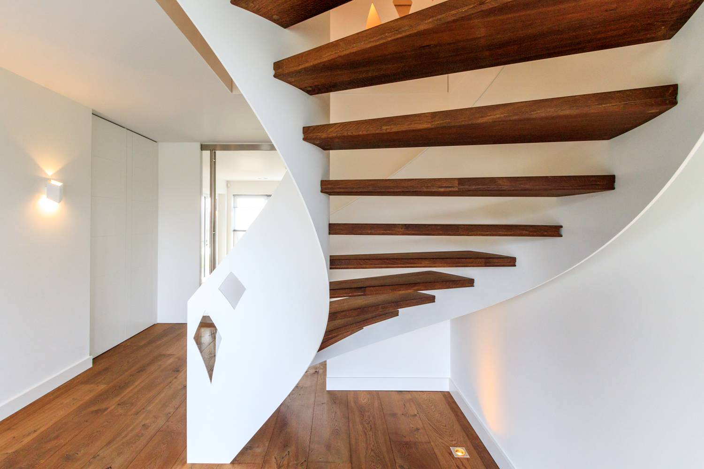 Wonderbaar Van Bruchem Staircases | Stalen wenteltrap uitsneden ET-27