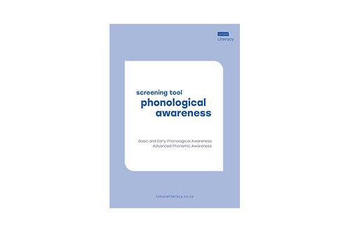 Phonological Awareness Screening Tool
